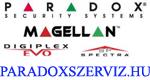 paradoxszerviz.hu Paradox riasztórendszer szerviz, telepítés és karbantartás Budapest, Monor, Szolnok riasztórendszer fórum Paradox riasztórendszerek telepítéshez, használatához Logo